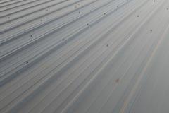 Metallark för industribyggnad arkivbilder