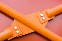 Metallaufbau Lizenzfreies Stockfoto