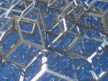 Metallaufbau Stockbild