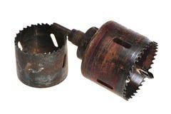 Metallausflußöffnung Stockfoto