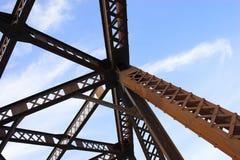 Metallauszüge Stockbild