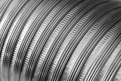 Metallauszug Lizenzfreies Stockbild