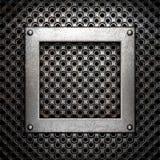 Metallbakgrund Royaltyfri Foto