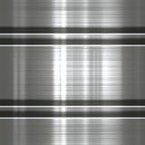 Metallbakgrund eller textur Royaltyfri Bild