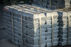 Metallbarren Lizenzfreie Stockfotografie