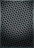 Metallbeschaffenheits-Ineinander greifenmuster   Lizenzfreies Stockfoto