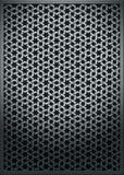Metallbeschaffenheits-Ineinander greifenrasterfeld   Lizenzfreie Stockfotos
