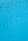 Metallblatt gemalt im Blau Stockfotografie