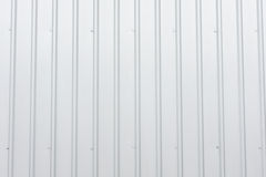 Metallblattwand Stockfoto