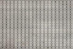 Metallbodenplatteplatte vor Rolltreppe Stockfotos
