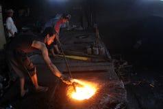 Metallcasting Stockbild