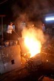 Metallcasting Lizenzfreie Stockfotos