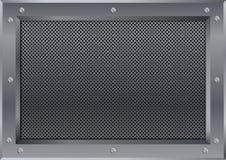 Metallchromrahmendachboden-Konzept des Entwurfes Lizenzfreies Stockbild