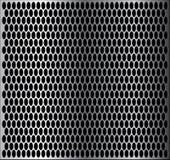 Metallcirkeltextur Royaltyfri Foto