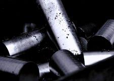 Metallcylindrar Royaltyfri Foto