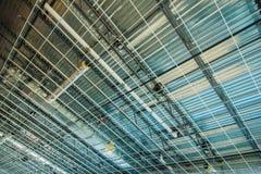Metalldachkonstruktion Lizenzfreie Stockfotos