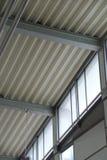 Metalldecke Stockbild