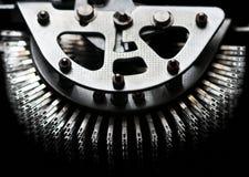 Metalldetail Stockfoto