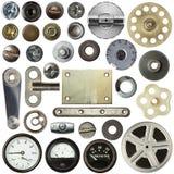 Metalldetails Stockbild