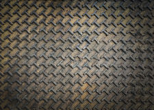 Metalldiamantplatte Lizenzfreies Stockfoto