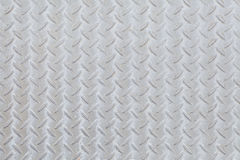 Metalldiamantplattenmuster und -hintergrund Stockfoto