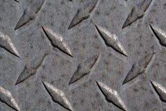 Metalldiamantplattenmuster und -hintergrund nahtlos Lizenzfreies Stockfoto