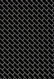 Metalldrahtineinander greifen Stockfotografie