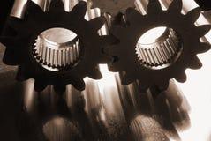 Metalle im Sepia Stockbild