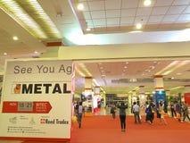 Metallex 2014 asia in bangkok Royalty Free Stock Images