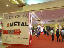 Metallex asia 2014 in bangkok Royalty Free Stock Image