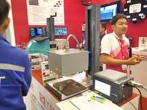 Metallex asia 2014 in bangkok Royalty Free Stock Images