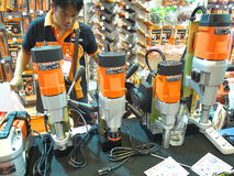 Metallex asiean 2014 ,thailand Royalty Free Stock Photo