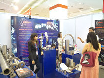 Metallex 2014 in Bangkok, Thailand Stock Foto's
