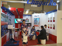 Metallex 2014 in Bangkok,Thailand Royalty Free Stock Images