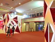 Metallex 2014 em Banguecoque, Tailândia Imagem de Stock Royalty Free