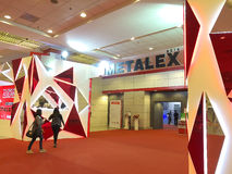 Metallex 2014 en Bangkok, Tailandia Imagen de archivo libre de regalías