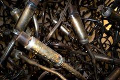 Metallföroreningröra Arkivfoton