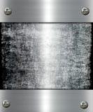 Metallfahne Stockfoto
