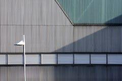 Metallfasad Royaltyfri Fotografi