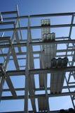 Metallfeld Lizenzfreie Stockbilder