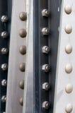Metallfeld. Stockfoto