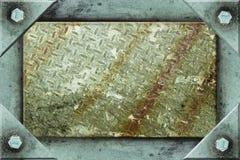 Metallfeld-Hintergrund Lizenzfreie Stockfotos