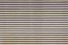 Metallfensterladen Stockfoto