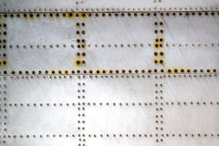 Metallflugzeuge Stockfoto