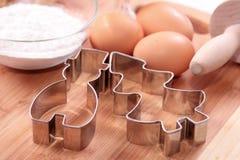 Metallformular für Kuchen Lizenzfreie Stockfotografie