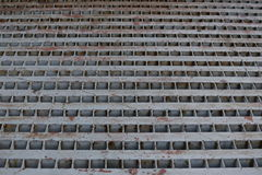 Metallfußboden Stockfotos