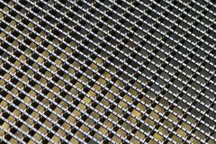 Metallgitterfeld Lizenzfreies Stockfoto