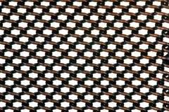 Metallgitterhintergrund Stockbilder