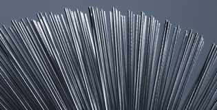 Metallglödtrådar Arkivfoton