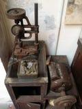 Metallgoldschmiedwerkzeug-Anfangschinese Malaya Stockbild